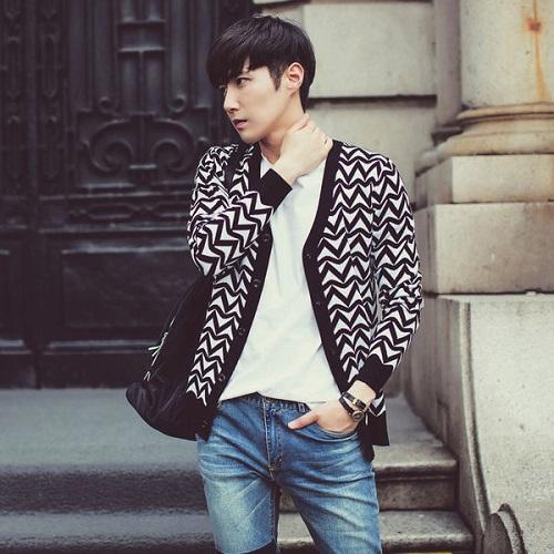 áo khoác cardigan nam nữ len cho mùa đông ấm áp hơn 5