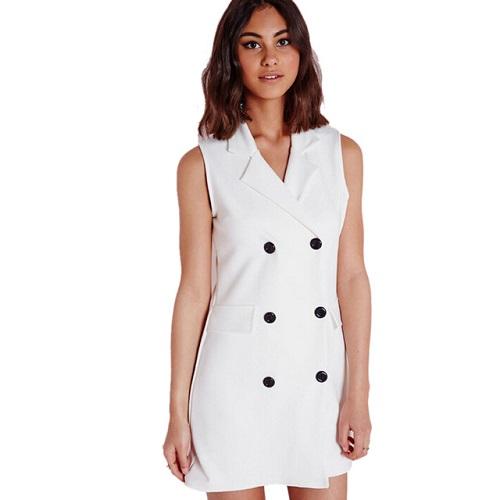 các mẫu đầm vest công sở đẹp nữ cách tân 1