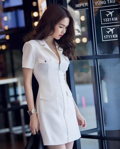 các mẫu đầm vest công sở đẹp nữ cách tân 6