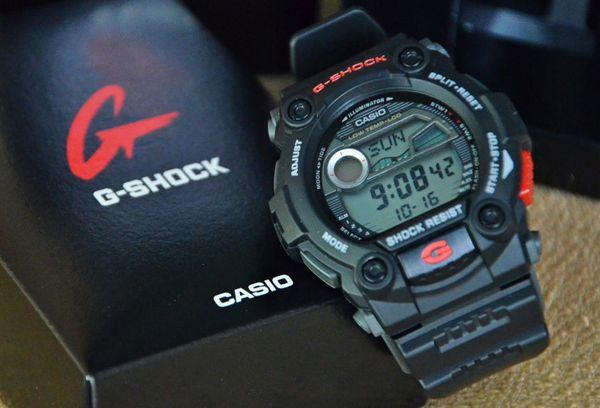 Cách Dùng Chức Năng Thủy Triều Đồng Hồ Casio G-Shock G-7900 Thông Tin