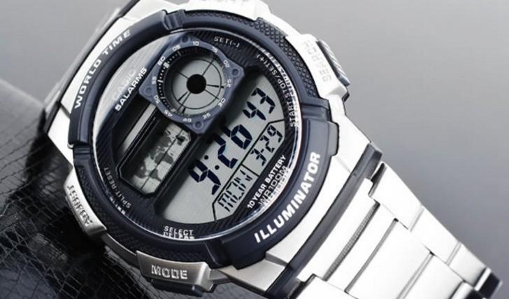 Đồng hồ Casio AE-1100WD-1AVDF giá rẻ, free thay pin trọn đời - Ảnh 3
