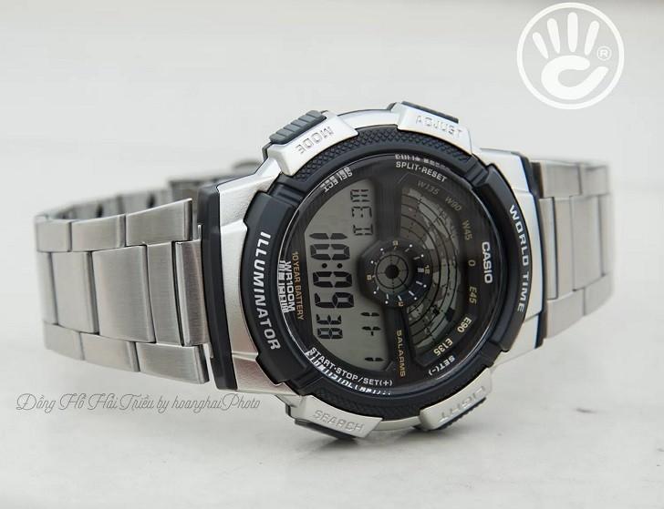 Đồng hồ Casio AE-1100WD-1AVDF giá rẻ, free thay pin trọn đời - Ảnh 6