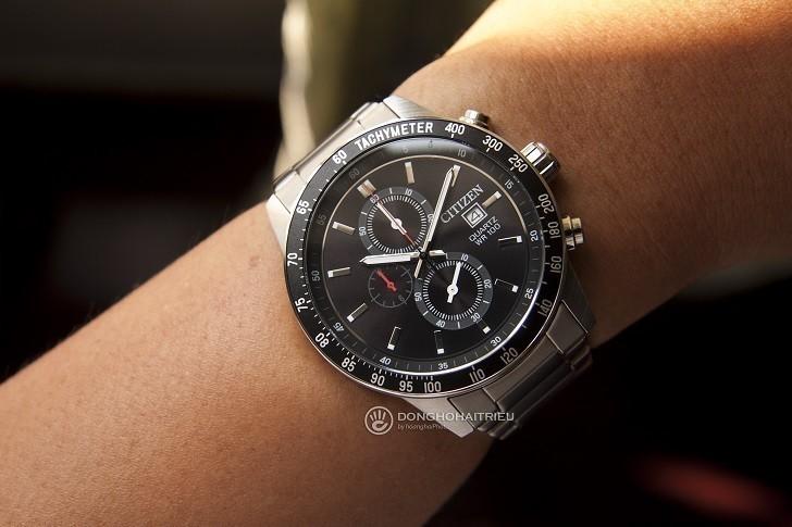 Đồng hồ nam Citizen AN3600-59E thay pin trọn đời miễn phí - Ảnh 3