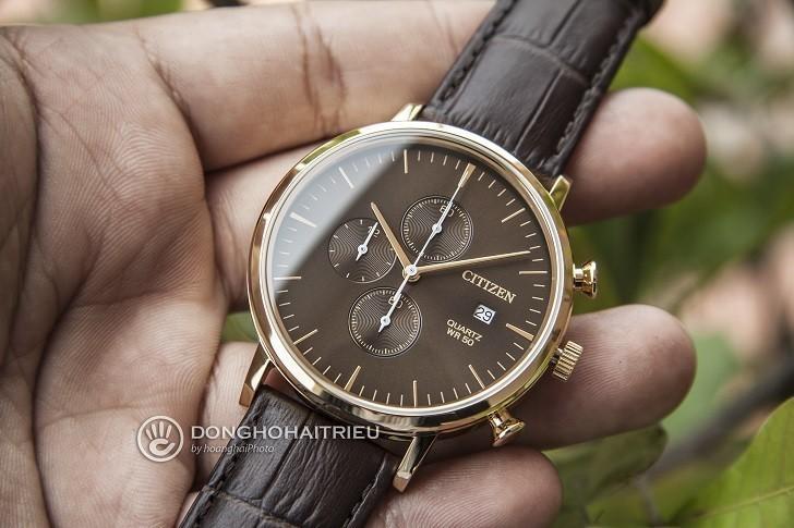 Đồng hồ Citizen AN3612-09X rẻ, thay pin trọn đời miễn phí - Ảnh 4