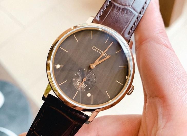Đồng hồ nam Citizen BE9173-07X dây da lịch lãm, sang trọng - Ảnh 1