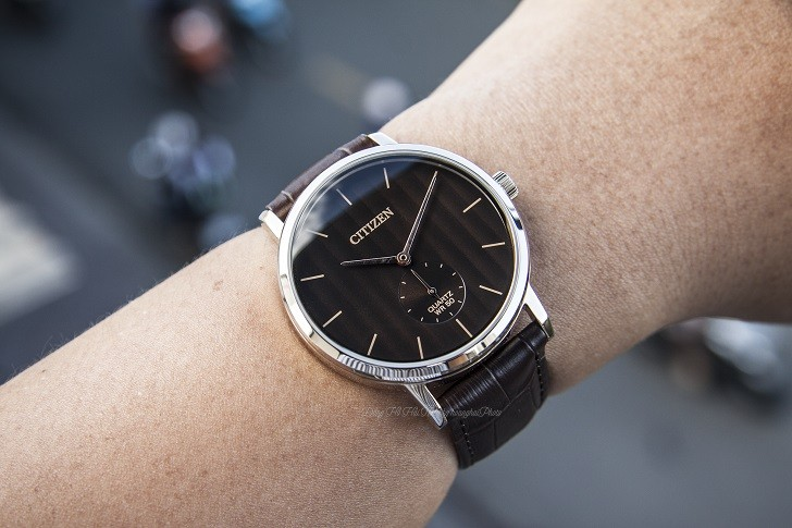 Đồng hồ nam Citizen BE9173-07X dây da lịch lãm, sang trọng - Ảnh 2