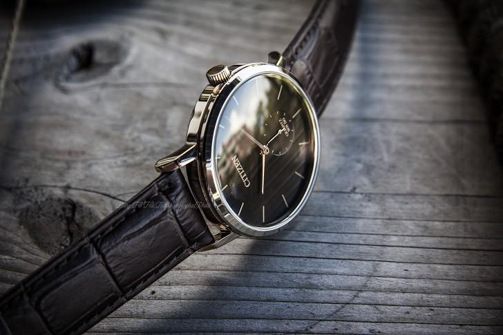 Đồng hồ nam Citizen BE9173-07X dây da lịch lãm, sang trọng - Ảnh 3
