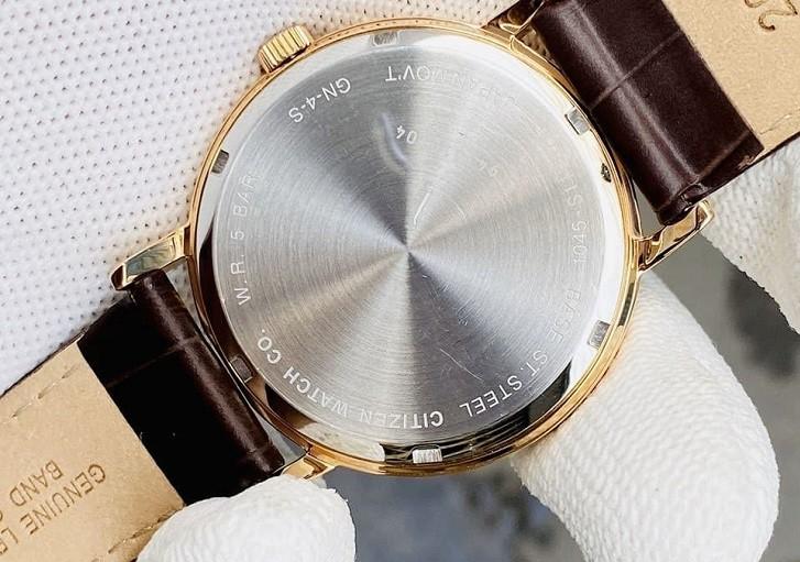 Đồng hồ nam Citizen BE9173-07X dây da lịch lãm, sang trọng - Ảnh 4