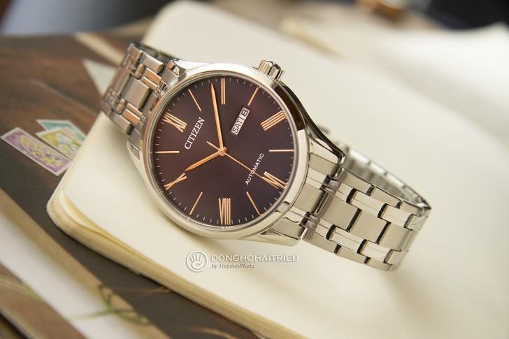 Đồng hồ Citizen NH8360-80J Automatic, trữ cót đến 40 giờ - Ảnh 2