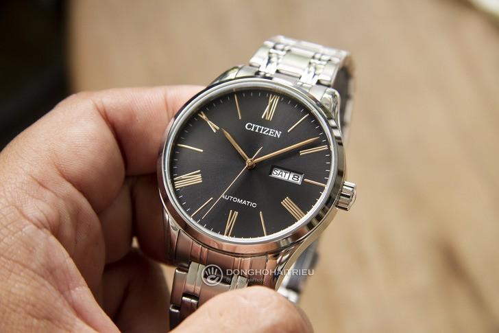 Đồng hồ Citizen NH8360-80J Automatic, trữ cót đến 40 giờ - Ảnh 3