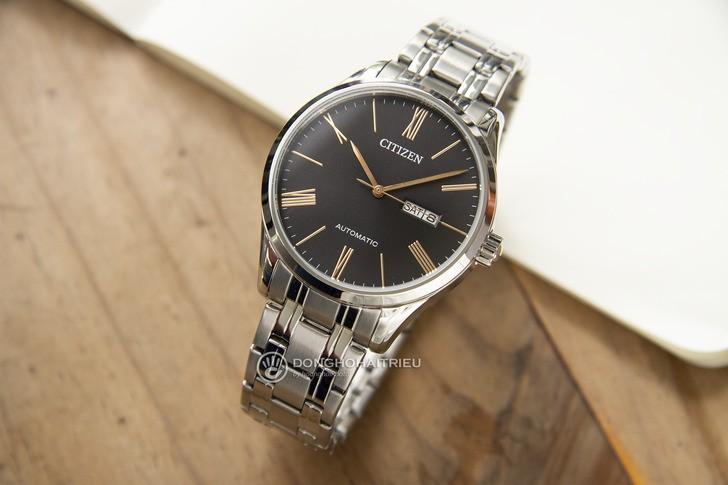 Đồng hồ Citizen NH8360-80J Automatic, trữ cót đến 40 giờ - Ảnh 6