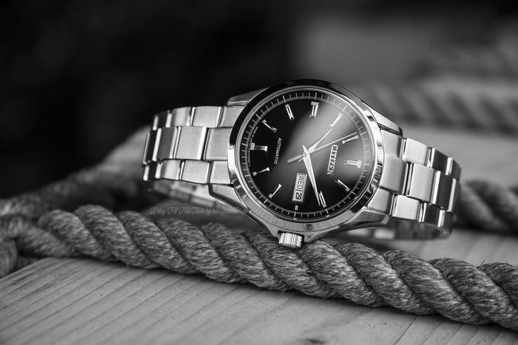 Đồng hồ Citizen NP4040-54E Automatic, trữ cót đến 40 giờ - Ảnh 1