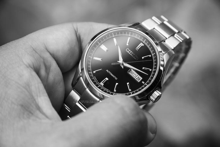 Đồng hồ Citizen NP4040-54E Automatic, trữ cót đến 40 giờ - Ảnh 2