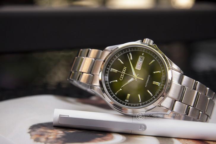 Đồng hồ Citizen NP4040-54E Automatic, trữ cót đến 40 giờ - Ảnh 8