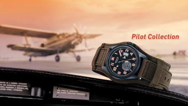 Doxa Pilot, Bộ Sưu Tập Đồng Hồ Phi Công Phong Cách Thế Chiến Thứ 2 D213GBK