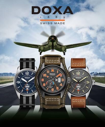 Doxa Pilot, Bộ Sưu Tập Đồng Hồ Phi Công Phong Cách Thế Chiến Thứ 2 So Sánh