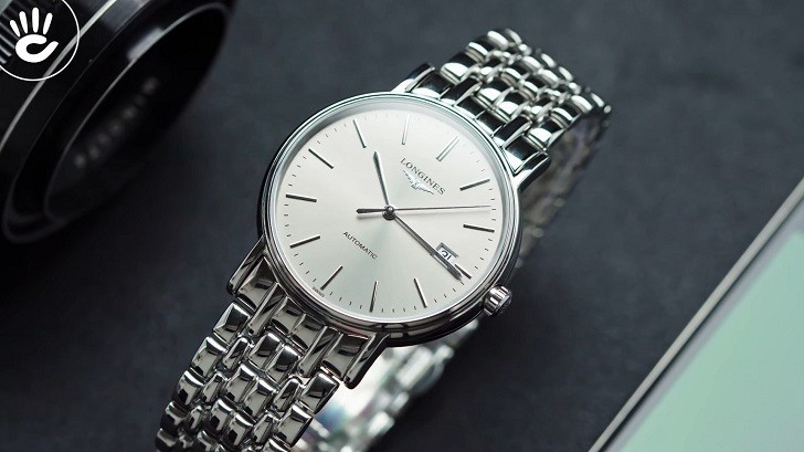 Đồng hồ Longines L4.921.4.72.6 kính sapphire chống trầy - Ảnh 1