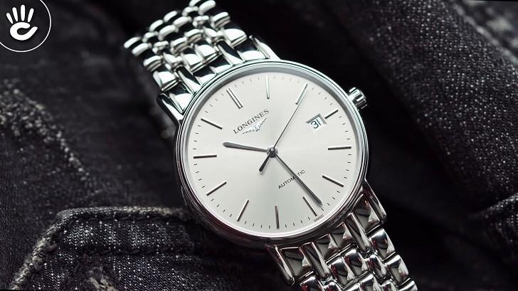 Đồng hồ Longines L4.921.4.72.6 kính sapphire chống trầy - Ảnh 3