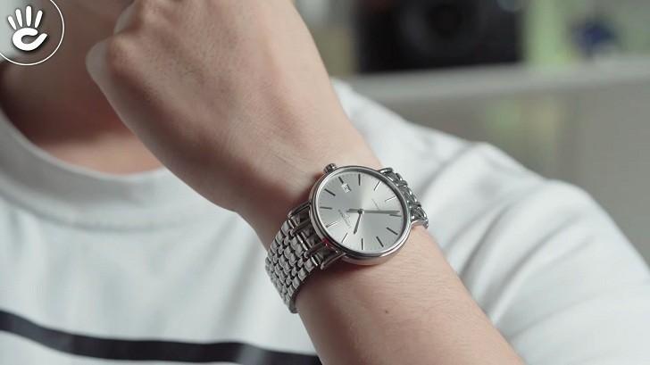 Đồng hồ Longines L4.921.4.72.6 kính sapphire chống trầy - Ảnh 4