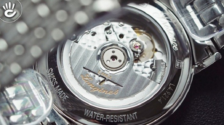 Đồng hồ Longines L4.921.4.72.6 kính sapphire chống trầy - Ảnh 5