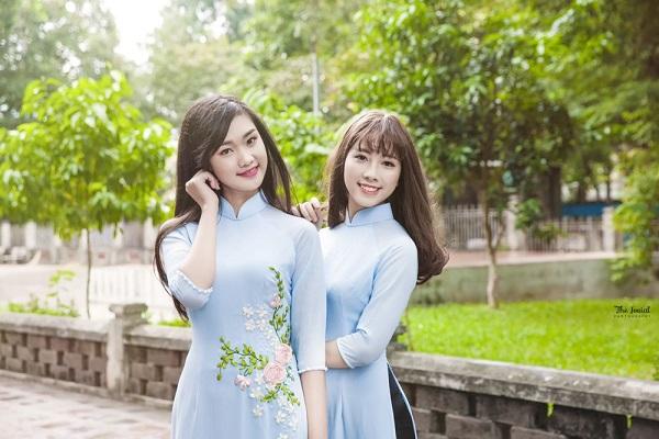 một số mẫu trang phục công sở áo dài 2017 mới nhất 7