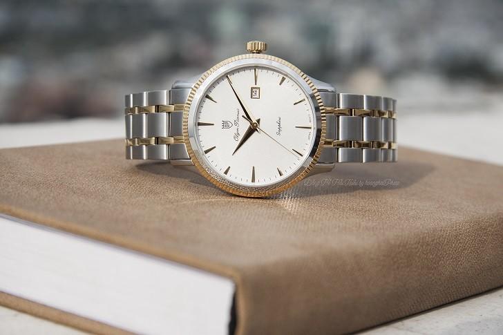 OP 5695MSK-T đồng hồ giá rẻ được trang bị kính Sapphire - Ảnh 1