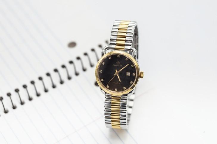 Đồng hồ OP 58067LSK-D đính đá, kính Sapphire chống trầy - Ảnh 2