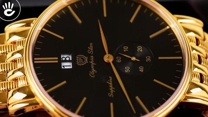 Đồng hồ OP 58070MK-D-04 mạ vàng, kính sapphire chống trầy - Ảnh 3