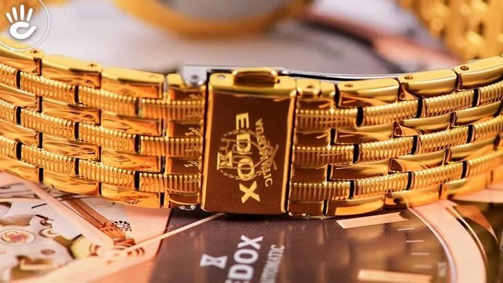 Đồng hồ OP 58070MK-D-04 mạ vàng, kính sapphire chống trầy - Ảnh 5