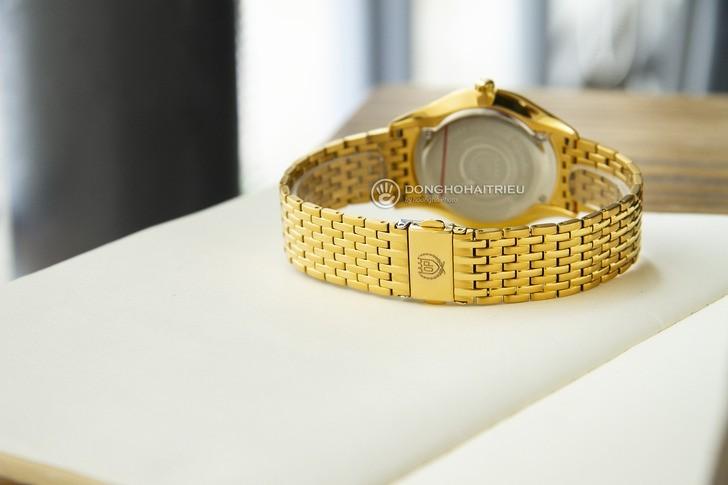 Đồng hồ OP 58070MK-D-04 mạ vàng, kính sapphire chống trầy - Ảnh 4