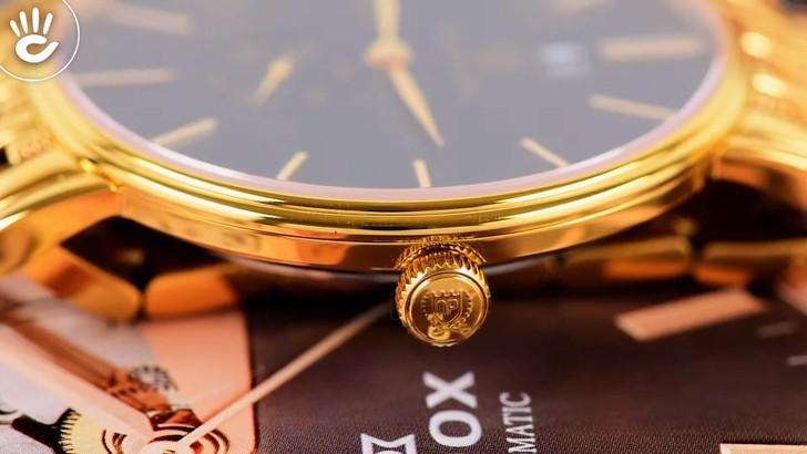Đồng hồ OP 58070MK-D-04 mạ vàng, kính sapphire chống trầy - Ảnh 6