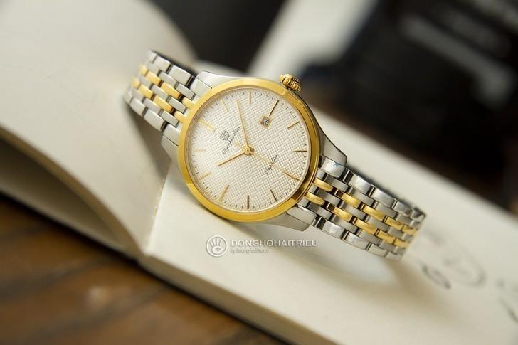 Đồng hồ Olym Pianus 58074LSK-T thay pin miễn phí trọn đời - Ảnh 1