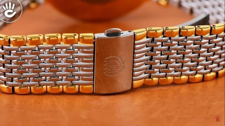 Đồng hồ OP 58092DMSK-T sử dụng kính Sapphire chống trầy - Ảnh 5