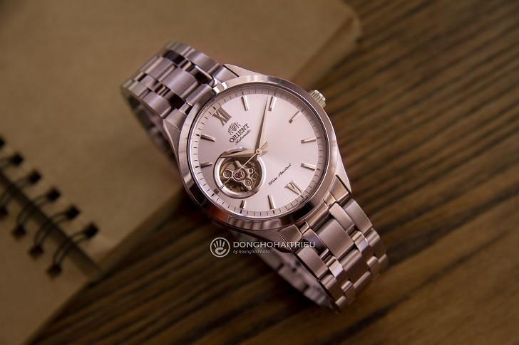Đồng hồ nam Orient FAG03001W0 thiết kế Open Heart ấn tượng - Ảnh 1