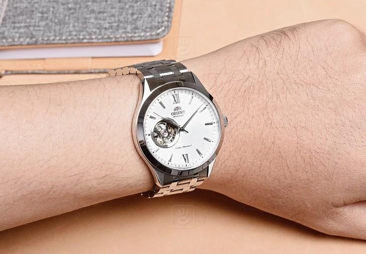 Đồng hồ nam Orient FAG03001W0 thiết kế Open Heart ấn tượng - Ảnh 2