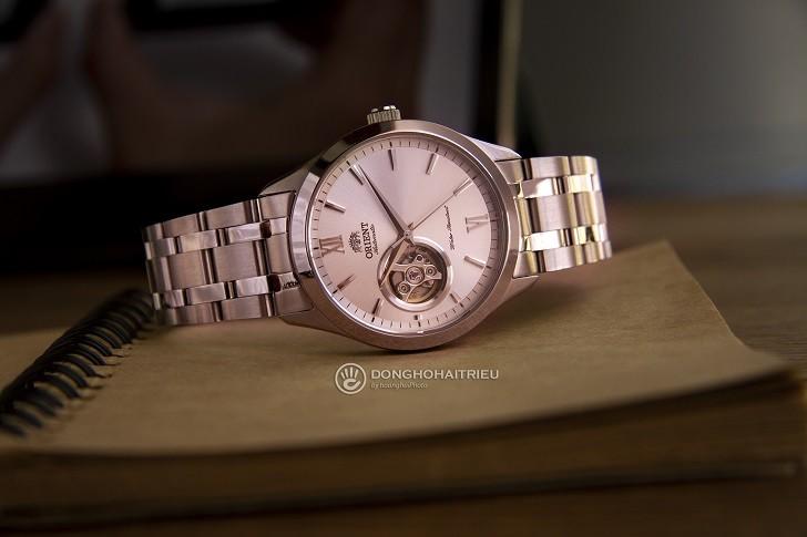Đồng hồ nam Orient FAG03001W0 thiết kế Open Heart ấn tượng - Ảnh 4