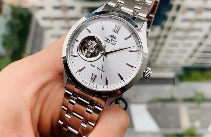Đồng hồ nam Orient FAG03001W0 thiết kế Open Heart ấn tượng - Ảnh 5