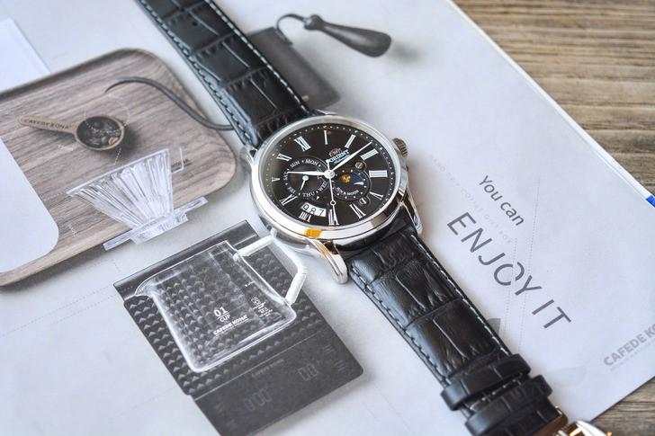 Đồng hồ Orient SAK00004B0 Automatic, trữ cót đến 40 giờ - Ảnh 6
