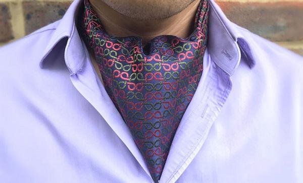 phụ kiện thời trang nam cà vạt ascot 4