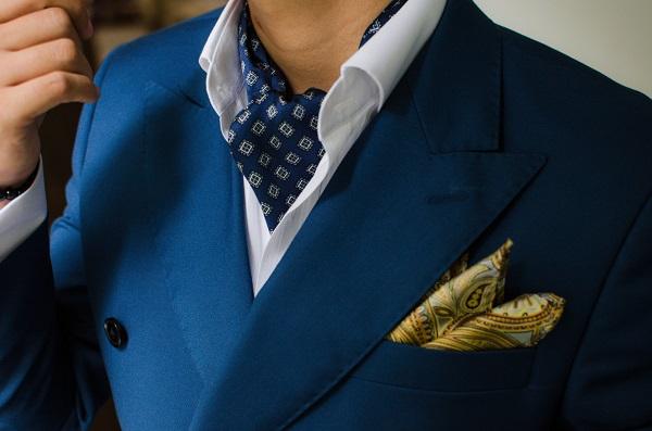 phụ kiện thời trang nam cà vạt ascot 5