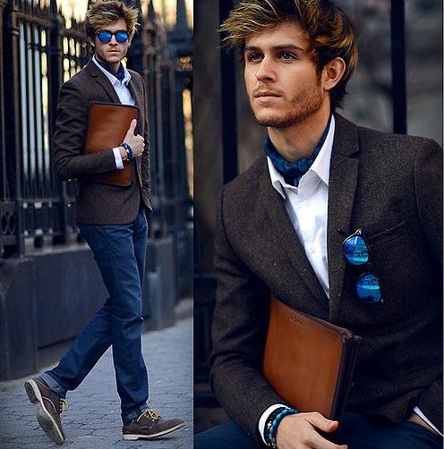 phụ kiện thời trang nam cà vạt ascot 6