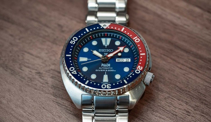 Đồng hồ Seiko SRPA21K1 Automatic, trữ cót lên đến 40 giờ - Ảnh 7