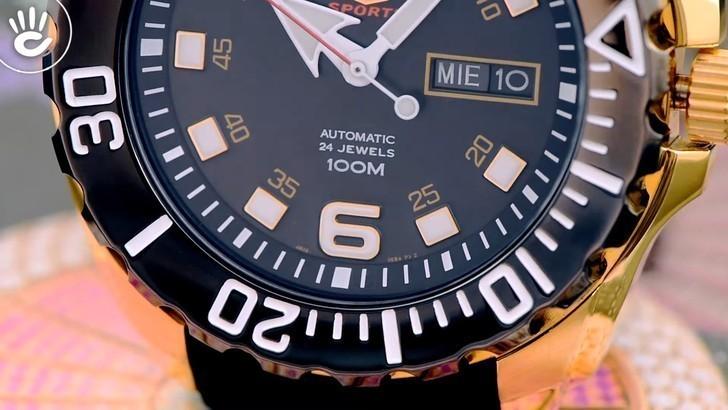 Đồng hồ Seiko SRPB40K1 automatic, trữ cót lên đến 40 giờ - Ảnh 5