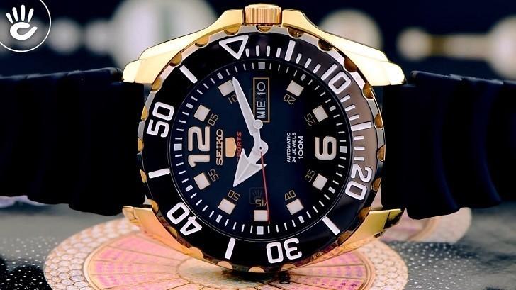 Đồng hồ Seiko SRPB40K1 automatic, trữ cót lên đến 40 giờ - Ảnh 6