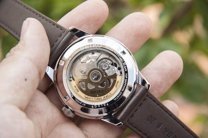 Đồng hồ Seiko SRPB65J1 automatic, trữ cót lên đến 40 giờ - Ảnh 5