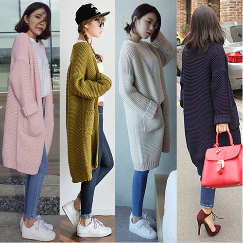 thời trang công sở nữ hàn quốc vào mùa đông 1