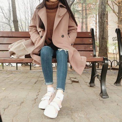thời trang công sở nữ hàn quốc vào mùa đông 2