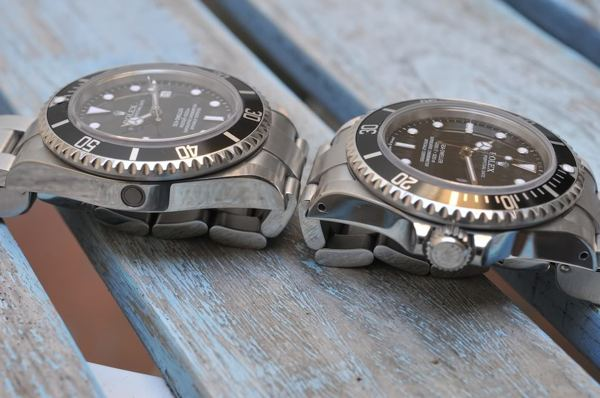 Từ Điển Thuật Ngữ Để Chơi Đồng Hồ Rolex Thụy Sỹ Chính Hãng No holes case và Hole case