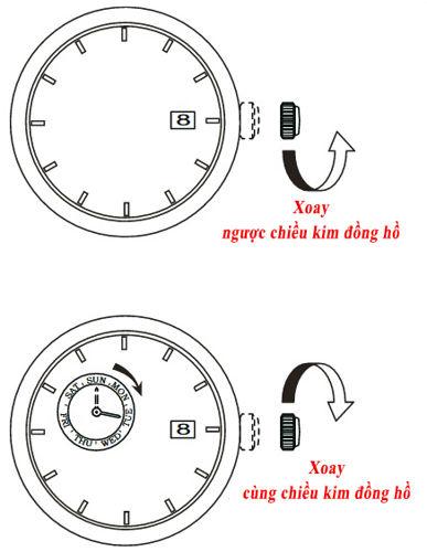 Cách Chỉnh Đồng Hồ Orient Automatic Sun And Moon Gen 1 Và Gen 2 Lịch Ngày Thư F6B24
