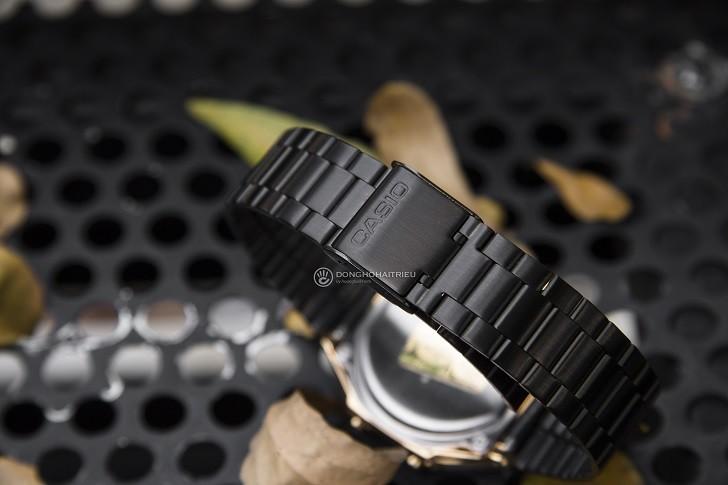 Đồng hồ nam Casio A168WEGB-1BDF thay pin miễn phí trọn đời - Ảnh 5
